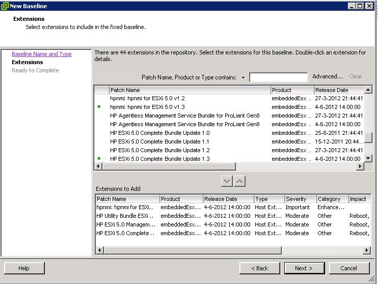 Updating vmware nic drivers