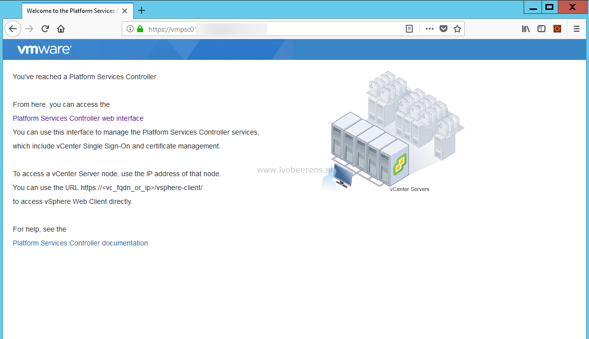Firefox Does Not Trusts Vcenter Signed Ca Certificates Ivobeerens